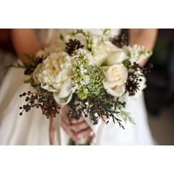 Пять правил зимнего букета невесты